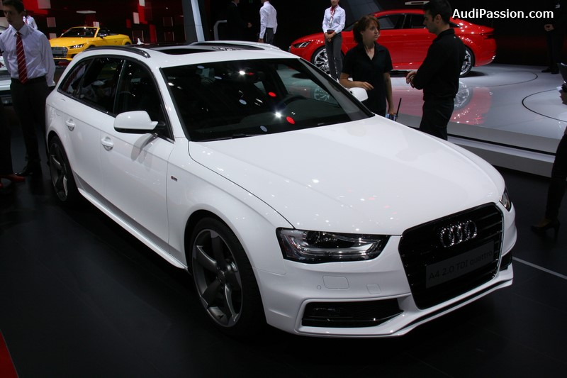 paris 2014 audi a4 avant. Black Bedroom Furniture Sets. Home Design Ideas
