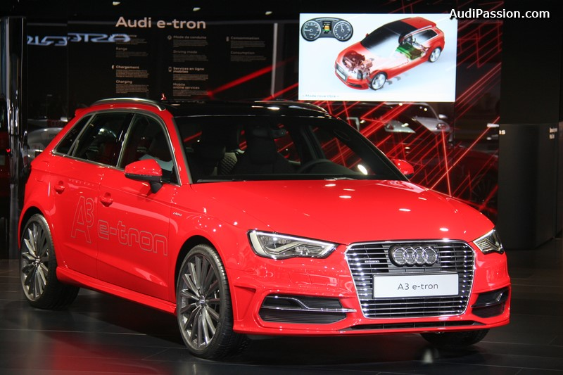 paris 2014 remise du prix ecar pour l audi a3 sportback e tron. Black Bedroom Furniture Sets. Home Design Ideas