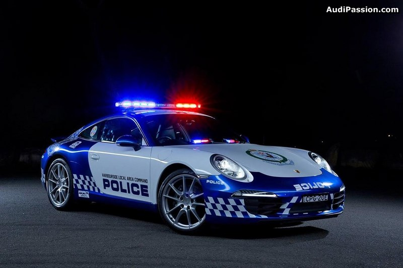 une porsche 911 carrera pour la police australienne. Black Bedroom Furniture Sets. Home Design Ideas