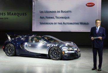 Paris 2014 – Bugatti présente la dernière Légende, « Ettore Bugatti », à l'occasion de la soirée du Groupe Volkswagen