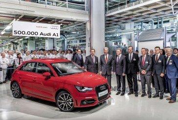 Jubilé à Bruxelles : la 500 000 ème Audi A1 produite