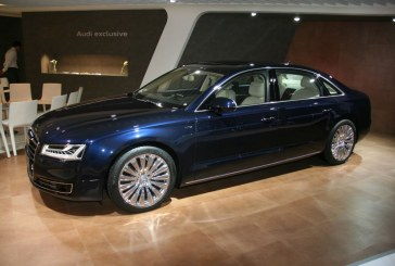 Paris 2014 – Salon Audi exclusive avec une Audi A8 L W12