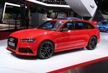 Paris 2014 – Audi RS 6 Avant restylée