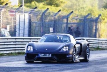 Michelin équipe la Porsche 918 Spyder avec le pneu Michelin Pilot Sport Cup 2