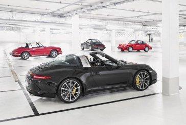 La nouvelle Porsche 911 Targa – équipée du toit innovant Targa