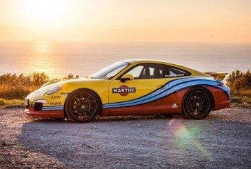 Porsche & Martini – La liaison mythique se renoue sur certains modèles