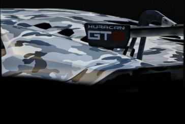 Premier roulage de la Lamborghini Huracán GT3 à Vallelunga