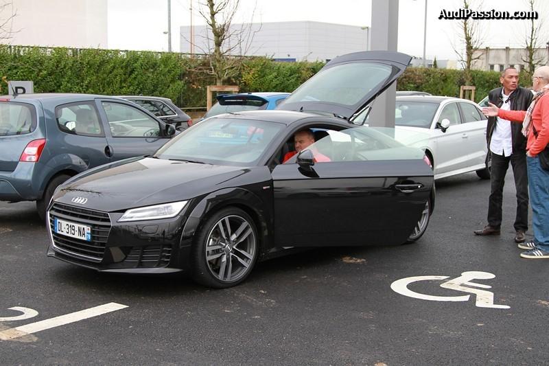 Audi Occasion Velizy : rassemblement audi coffee chez audi v lizy le 15 11 2014 ~ Gottalentnigeria.com Avis de Voitures