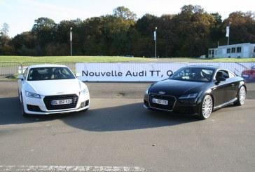 Essai Audi TT Coupé 2.0 TFSI 2015
