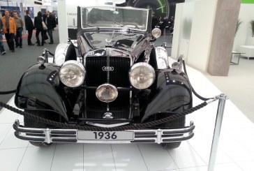 Horch 851 Pullmann-Cabriolet de 1936 au salon IZB 2014