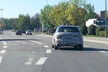Spyshots de la nouvelle Audi A1 Sportback