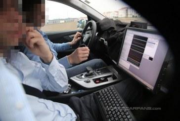 Spyshots - Intérieur et phares de l'Audi Q7 2015
