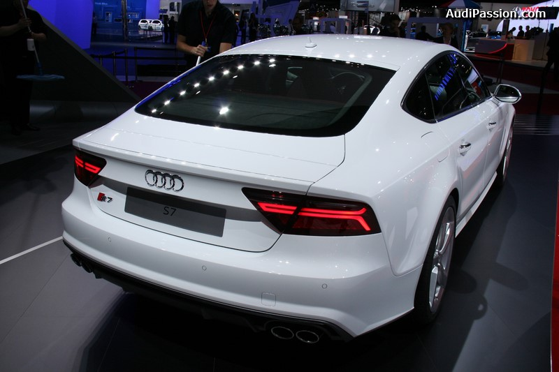 paris 2014 nouvelle gamme audi a7 s7 rs 7 sportback. Black Bedroom Furniture Sets. Home Design Ideas