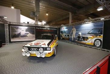 Audi fête les 30 ans du WRC à Padoue en Italie