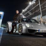 La Porsche 918 Spyder bat le record au tour sur le circuit Bugatti du Mans