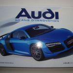 Livre Audi – 50 ans d'innovation – Editions Chêne E/P/A
