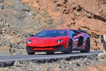 Spyshots - Lamborghini Aventador SV en approche