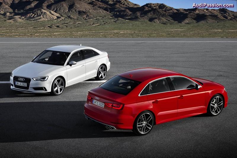 Fuenf Sterne fuer Audi A3- und S3-Limousine  beim US NCAP