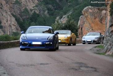 Porsche Corsica Giru 2014-2015 : 20 000 ch sur les routes corses