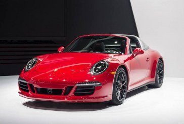 Nouveautés Porsche au NAIAS 2015 – Porsche 911 Targa 4 GTS et Cayenne Turbo S
