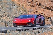 Spyshots – Lamborghini Aventador SV en approche