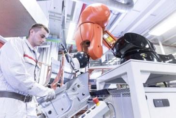 Nouvelle coopération humain-robot dans le processus de production d'Audi