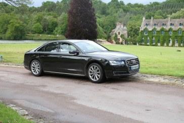 Essai Audi A8 V6 3.0 TDI clean diesel quattro tiptronic 258 ch AVUS Extended 2014