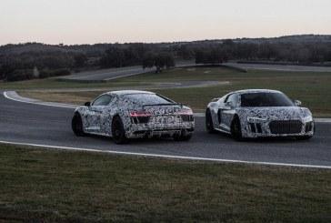 La nouvelle Audi R8 commence à se dévoiler en vidéo et en photos
