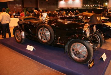 Rétromobile 2015 - Bugatti Type 43 Grand Sport de 1928