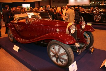 Rétromobile 2015 - Bugatti Type 55 cabriolet de 1932