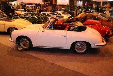 Rétromobile 2015 – Porsche 356 B Super 1600 T5 Cabriolet Wiener Gendarmerie de 1961