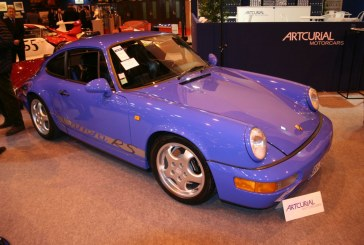 Rétromobile 2015 – Porsche 911 Type 964 Carrera RS de 1992