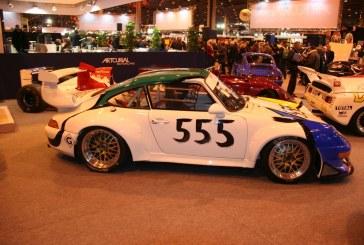 Rétromobile 2015 – Porsche 993 Cup GT2 de 1995