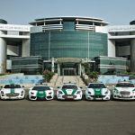 Impressionnante flotte de voitures de la Police de Dubai