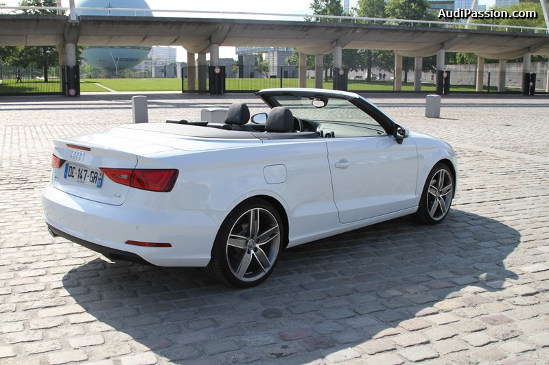 essai audi a3 cabriolet 2 0 tdi 150 ch ambition luxe de 2014. Black Bedroom Furniture Sets. Home Design Ideas