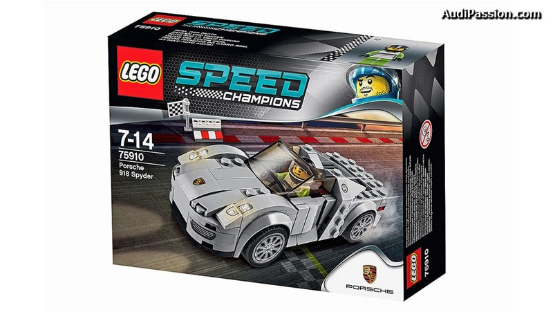 les porsche 911 rsr 911 gt3 r hybrid et 918 spyder seront disponibles en lego. Black Bedroom Furniture Sets. Home Design Ideas