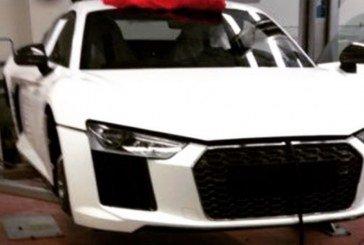 Fausse première photo de la nouvelle Audi R8 présentée au salon de Genève 2015