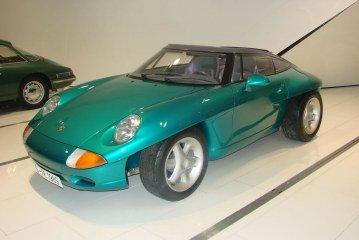 Porsche Panamericana – Un concept car de 1989 un peu particulier