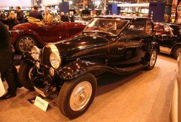 Rétromobile 2015 – Bugatti Type 44 Coupé Profilé Aérodynamique Gangloff de 1928