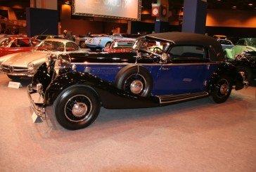 Rétromobile 2015 – Horch 853 Cabriolet de 1936