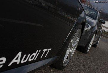 Rencontre de deux générations d'Audi TT