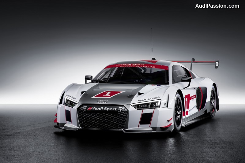 audi r8 lms 2015 une nouvelle g n ration de voiture de. Black Bedroom Furniture Sets. Home Design Ideas