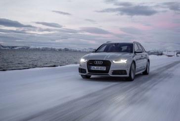 A la chasse aux aurores boréales avec les phares Audi Matrix LED - #HuntingTheLight