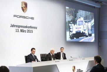Porsche enregistre à nouveau un chiffre d'affaires et un résultat record en 2014