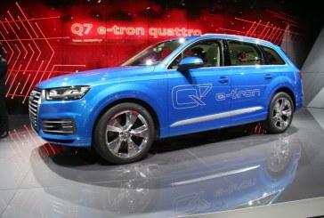 Genève 2015 – Audi Q7 e-tron quattro