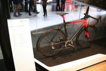 Genève 2015 – Audi Sport Racing Bike : le premier vélo de course Audi en carbone