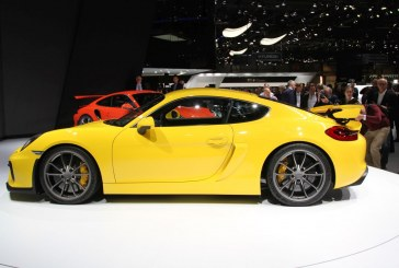 Des pneus Michelin pour le lancement de la Porsche Cayman GT4
