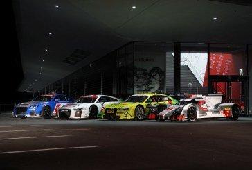 Audi Sport présente ses voitures pour la saison 2015 et ses nouveaux locaux