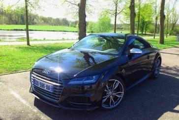 Essai de l'Audi TTS S-tronic en Alsace