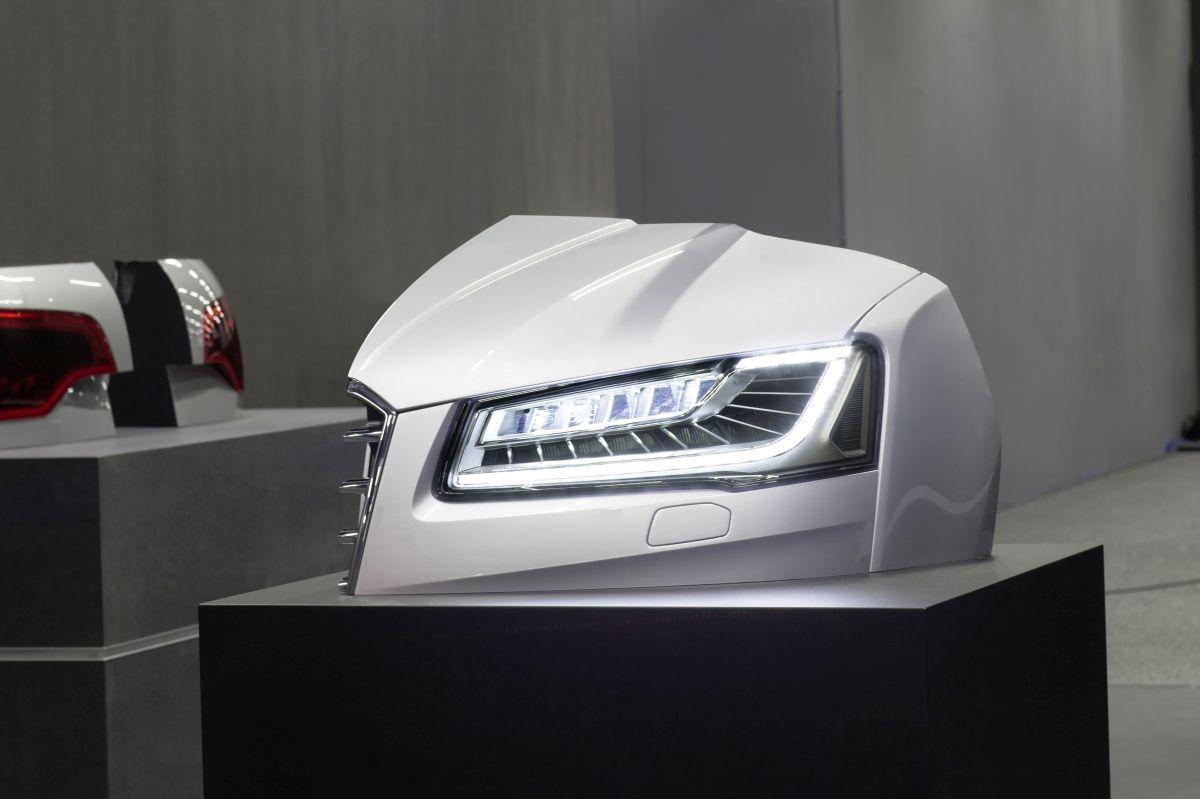 Audi innove toujours plus avec la technologie Audi Matrix Laser à haute résolution